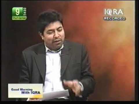 Akbar Chaudry Ex Qadiyani On Iqra TV - Part 3