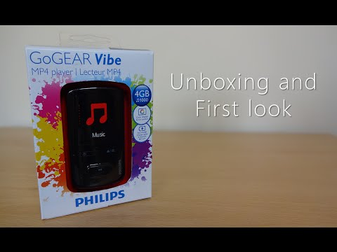 Philips Go GEAR Vibe unboxing and first look