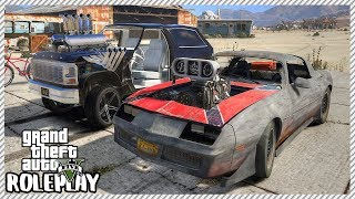 GTA 5 Roleplay - Monster Junkyard Dragsters 'DESTROY' Supercars | RedlineRP #286