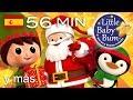 Dulce Navidad  Villancicos  ¡Y mas canciones infantiles!  56 minutos  de LittleBabyBum -