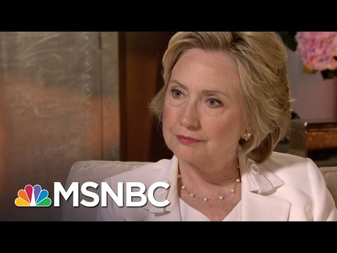Hillary Clinton Interview: One-On-One | Andrea Mitchell | MSNBC
