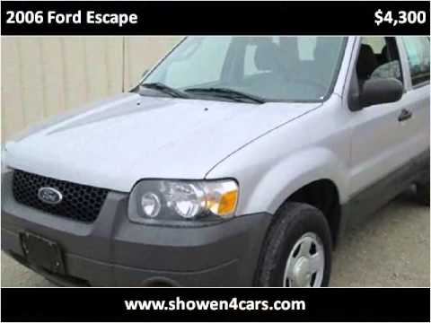 2006 ford escape used cars wilmington oh youtube for Showen motors wilmington ohio