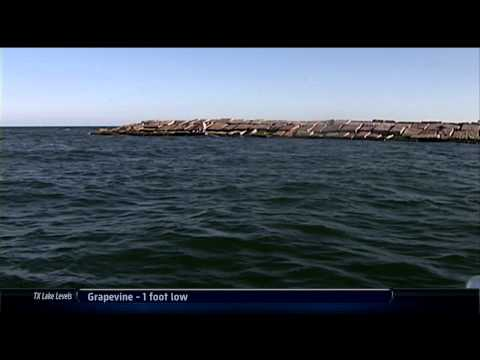 Lake Palestine TX Hybrid Striper Fishing Southwest Outdoors Report #14 - 2012 Season