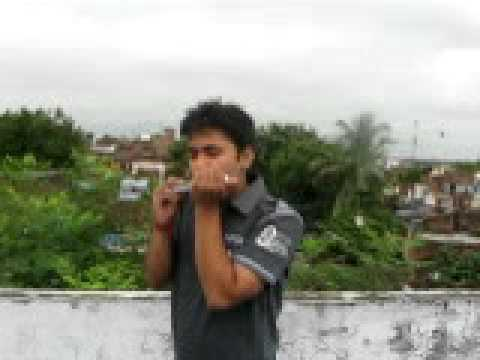 Sholay song on Mouth Organ by Priyvrat