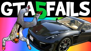 GTA 5 FAILS – EP. 9 (Funny moments compilation online Grand theft Auto V Gameplay)