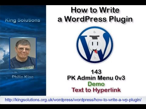 0 143 Admin Menus, Database interaction and Uninstall.php   How to Write a WordPress Plugin Series