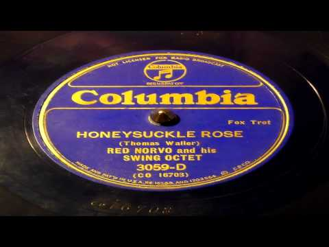 Honeysuckle Rose - Red Norvo And His Swing Octet (Columbia)