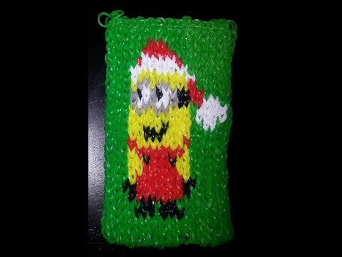 Mural minon de no l cra z loom tutoriel en fran ais youtube for Mural en francais