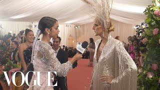 Céline Dion on Her Judy Garland-Inspired Met Gala Gown | Met Gala 2019 With Liza Koshy | Vogue