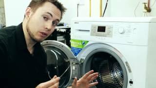 washing machine making loud banging noise