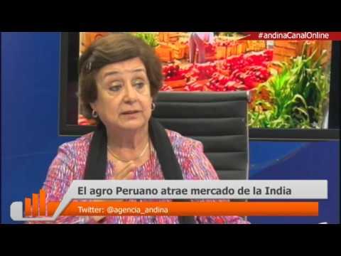 El agro peruano atrae mercado de la India