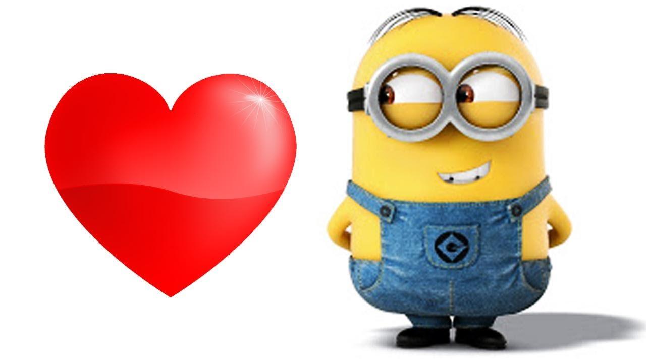 Minion enamorado - Risa sin Más. Imágenes divertidas