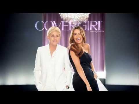 Ellen DeGeneres amd Sofia Vergara debut Covergirl Tone Rehab Commercial.flv
