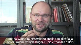 Minister vnútra SR Robert Kaliňák je hanba pre Slovensko