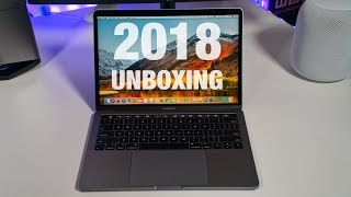 "New MacBook Pro 13"" (2018) - Unboxing & Hands on!"