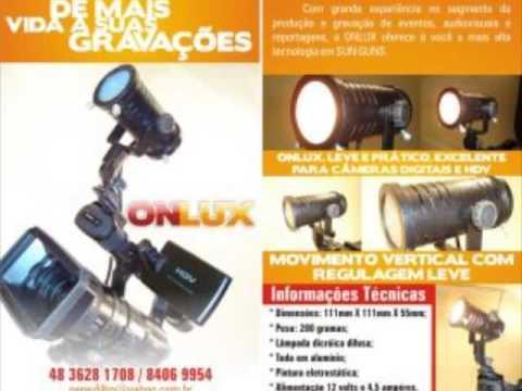 iluminador para filmadoras