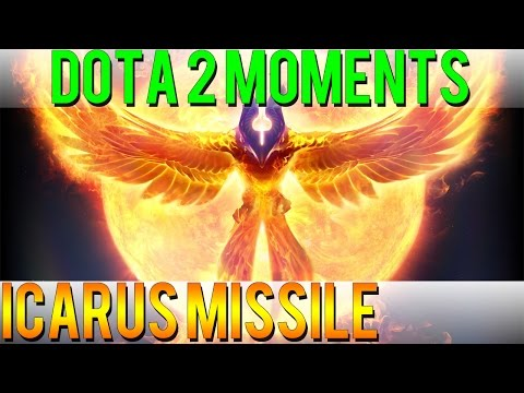 Dota 2 Moments - Icarus Missile