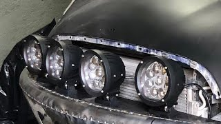 FAROS OFF-ROAD AL MINI!! | JUCA
