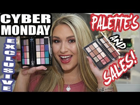 Cyber Monday Exclusive Palettes and Sephora, Ulta and other MAJOR Sales!