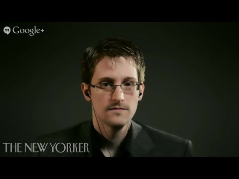 The Virtual Interview: Edward Snowden – The New Yorker Festival