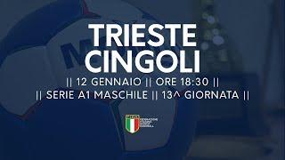 Serie A1M [13^]: Trieste - Cingoli 27-22