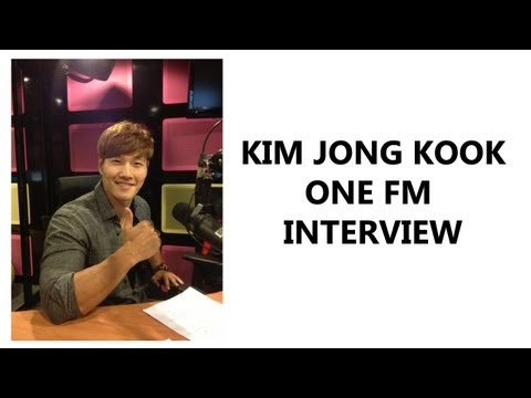 Kim Jong Kook Interview Session on ONE FM Malaysia Part 1