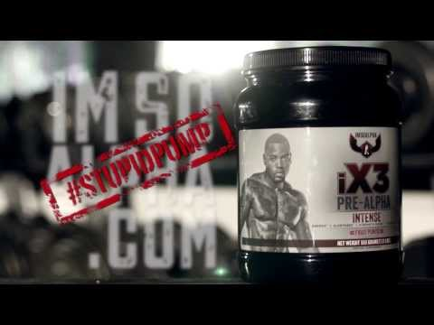 iX3 Pre Alpha pre workout by Mike Rashid