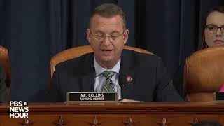 WATCH: Rep. Doug Collins' full closing statement in hearing with legal experts