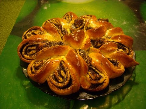 Пирожки с маком из слоеного теста рецепт пошагово