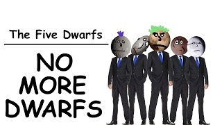 The Five Dwarfs - NO MORE DWARFS (their debut hit song!!!)