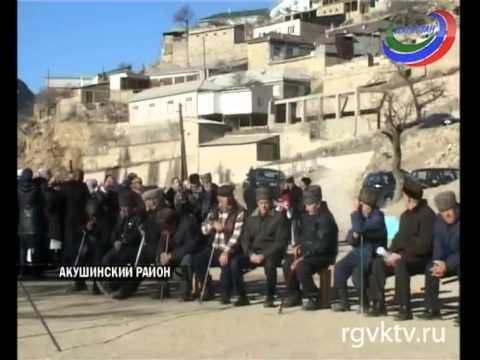 В село Аметеркмахи Акушинского района подвели газ
