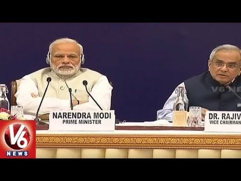 "NITI Aayog Meet : PM Modi Talks ""Team India"" Amid Attack From Chief Ministers 