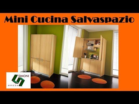 MINI CUCINA SALVASPAZIO CM 125 | ARREDARE MONOLOCALI
