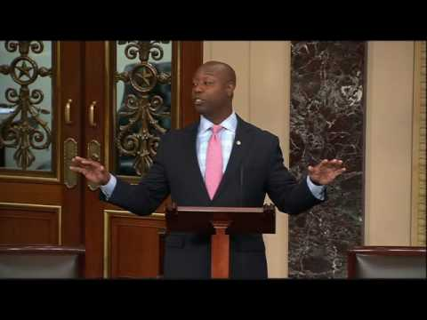 Senator Scott Delivers Speech from Senate Floor, Offering Solutions to Issues Facing Our Nation