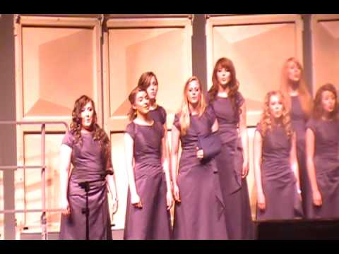 WXHS Madrigal Women -  The Log Drivers Waltz