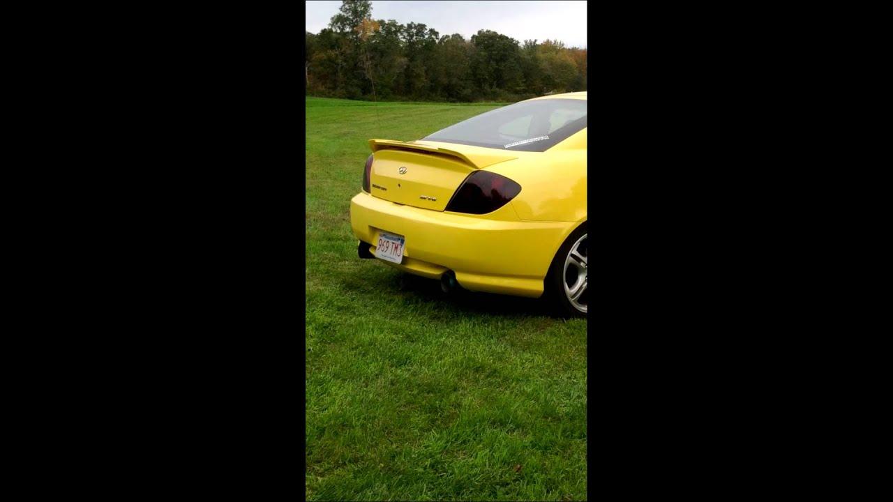 Ebay N 1 Cat Back Exhaust On 06 Tiburon Gt V6 Youtube