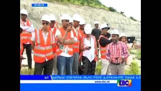 Members of Diaspora Community Visited The ABAY DAM Construction