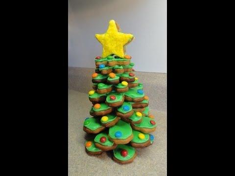 3-D Cookie Christmas Tree - 3 - D Karácsonyfa süti