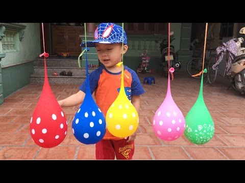 Learn Colors  Balloons & Baby Songs   Th