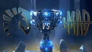 TL vs MAD   Worlds Group Stage Day 4   Team Liquid vs MAD Team (2018)