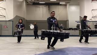 BPHS Braves' Entertainment Corps 2018 Indoor Drumline - The Speed of Life