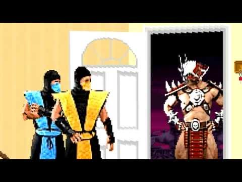 Mortal Kombat Sitcom: Shao Kahn Comes to Dinner