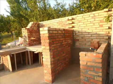 Zidanje pecenjare i pusnice 1 i 2