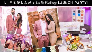 Les Do Makeup x LiveGlam ShadowMe Palette Launch Party