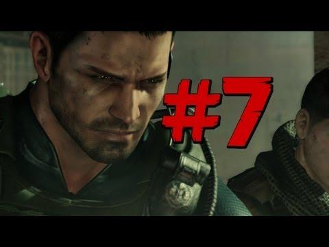 Resident Evil 6 - Walkthrough - Chris Part 7 - Da Goop (PS3/X360) [HD] (Gameplay)