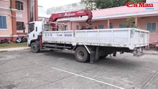Cà Mau: Bắt 2 đối tượng thuê xe cẩu trộm 5 tấn tol ngay giữa ban ngày