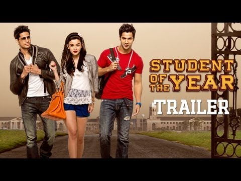 Student Of The Year - Official Trailer - Sidharth Malhotra. Alia Bhatt & Varun Dhawan