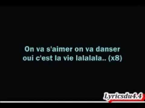 Cheb Khaled - C'Est La Vie , Lyrics