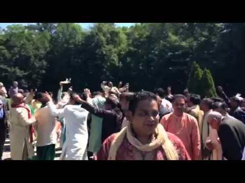 Rockin' Indian Wedding Party At Pearl River Hilton. Randi & video