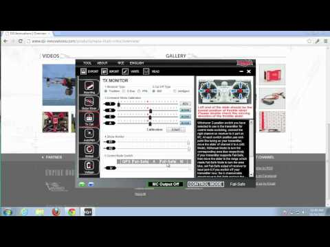 How to Configure DJI Naza Control Modes (Attitude and Manual) with Turnigy 9x Transmitter